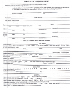 Click Here for a Printable Application